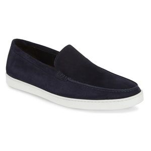 Men's To Boot New York Jet suede slip on shoes